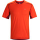 Arc'teryx Accelero Comp Shortsleeve Shirt Men red